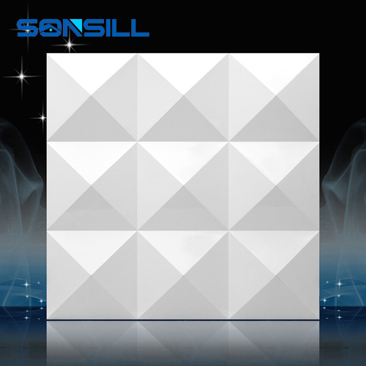 3D pvc marble wall panel, decorative 3d wall panel