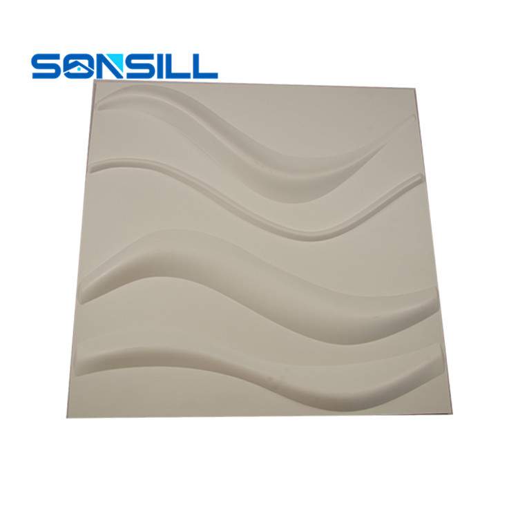 High quality pvc embossed 3d wall panels
