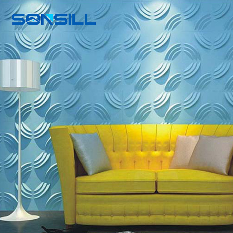 500*500 3d pvc wall panel, decorative pvc wall panels, home decor 3d wall panels, 3d pvc wall panels for office