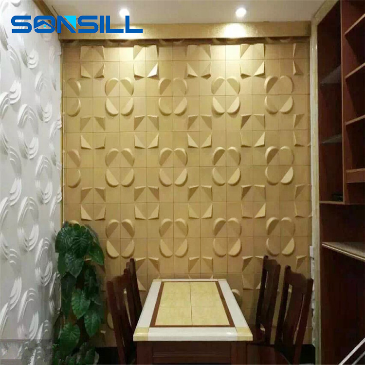 3d wallpaper decorative wall panels, decorative 3d wall panel mold, light weight 3d wall panel