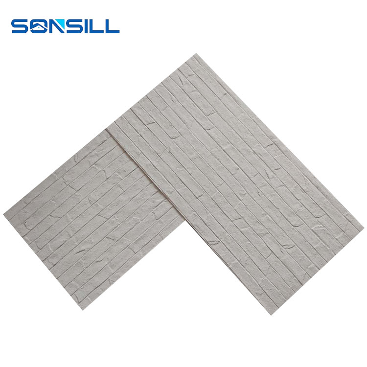wallpaper stone, wallpaper stone design, water resistant flexible tile, waterproof soft panel